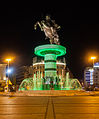 Guerrero a caballo, Skopie, Macedonia, 2014-04-17, DD 101.JPG