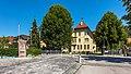 Gurk Dr.-Schnerich-Straße 8 Volksschule und Gemeindebrunnen 06072020 9236.jpg