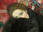 Gustav Klimt – Dame mit Muff, 1916.jpg
