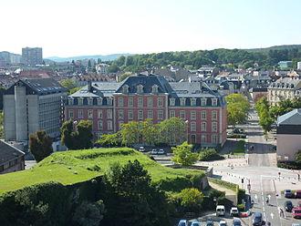 Bourgogne-Franche-Comté - Image: Hôtel du département 1