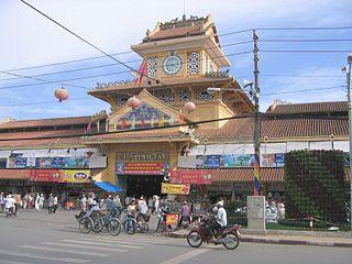 Chợ Lớn, Ho Chi Minh City Quarter of Ho Chi Minh City, Vietnam, known as Chinatown