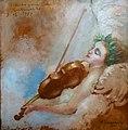 HENRIQUE BERNARDELLI (1858 - 1936), Estudo para decoração da Sala Martinelli, 20-01-1931, óleo sobre madeira, 27,5 x 27,5 cm, Photo Gedley Belchior Braga.jpg