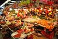 HK 上水 Sheung Shui 石湖墟市政大廈 Shek Wu Hui Municipal Services Building 上水街市 food Market interior June 2018 IX2 12.jpg