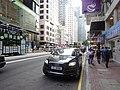 HK 灣仔 Wan Chai 莊士敦道 Johnston Road sidewalk carpark Audi SD8666 Aug 2016 DSC.jpg
