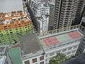 HK 69 Pokfulam Road 錦明閣 King Ming Mansion view St Louis School roof n Queen's Road West July-2011.jpg