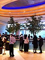 HK Hung Hom 都會海逸酒店 Harbour Plaza Metropolis Kln lobby hall interior visitors Feb-2013.JPG