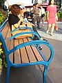 HK Ocean Park Bench public chair visitors Sep-2012.JPG