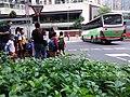 HK TKO 將軍澳 Tseung Kwan O 寶盈花園 Bauhinia Garden 唐俊街 Tong Chun Street morning school bus May 2019 SSG.jpg