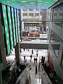 HK TST Isquare mall escalators exit 2 Peking Road.JPG
