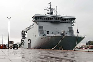 HMNZS CANTERBURY in Port at Lyttelton - Flickr - NZ Defence Force.jpg