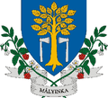 HUN Mályinka COA.png