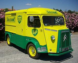 BP - A BP truck from 1967