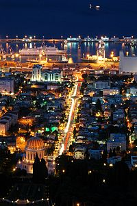 Haifa-WM04 - At night.JPG
