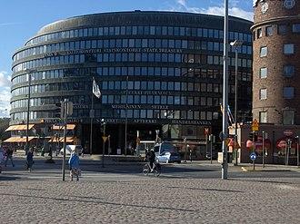 Hakaniemi - Ympyrätalo building