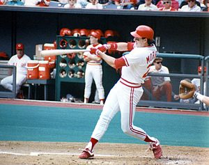 Hal Morris - Morris was part of the World Champion Cincinnati Reds in 1990