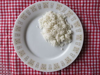 White rice - Cooked white rice
