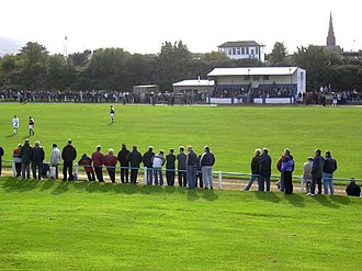 Girvan F.C. - Image: Hamilton Park, Girvan. Football ground geograph.org.uk 52253