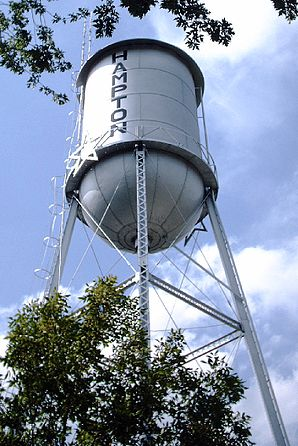 Wasserturm in Hampton, Minnesota