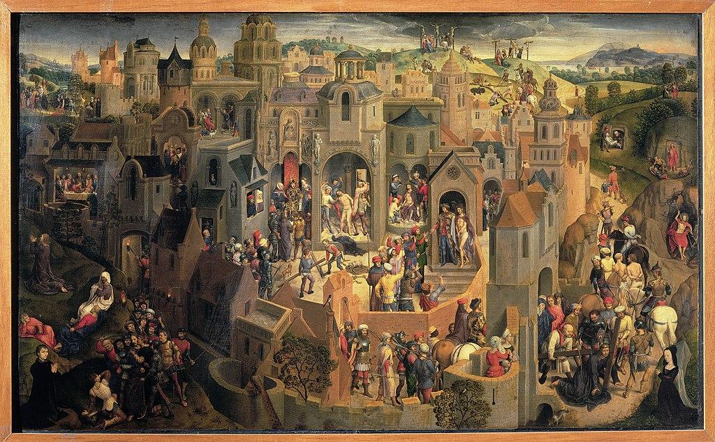 Scène de la Passion du Christ (1470), tableau de Hans Memling à la galerie Sabauda à Turin.
