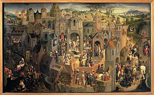 Scenes from the Passion of Christ - Image: Hans Memling Passione