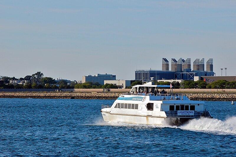 Transporte aquático em Boston
