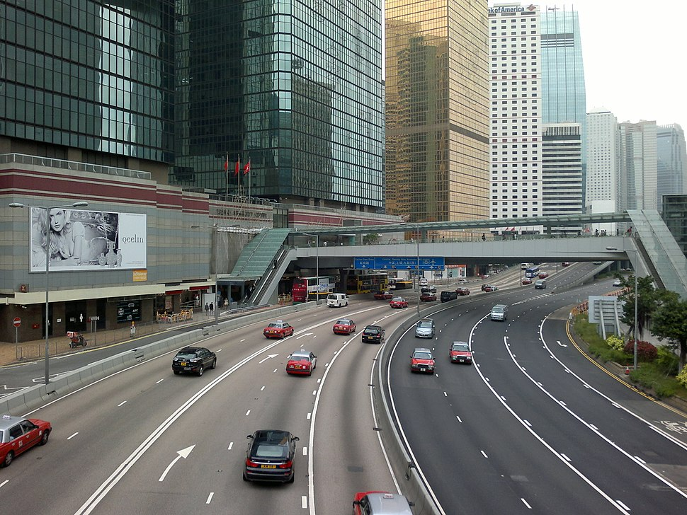 Harcourt Road near Admiralty Centre