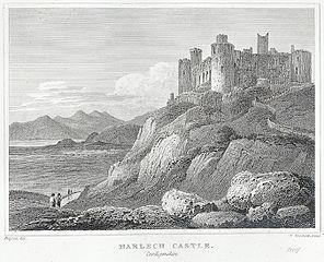Harlech Castle, Cardiganshire