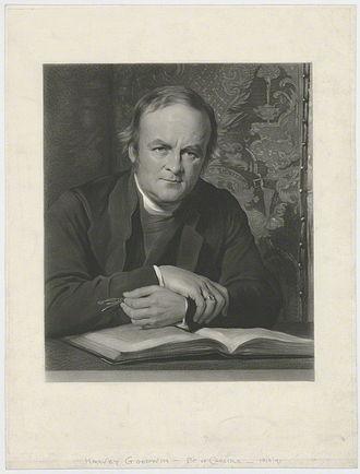 Harvey Goodwin - Harvey Goodwin, engraving after George Richmond