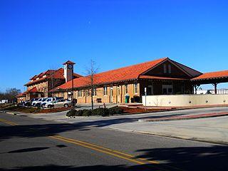 Hattiesburg station Amtrak station in Hattiesburg, Mississippi, USA