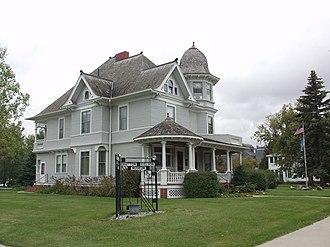 National Register of Historic Places listings in Traill County, North Dakota - Image: Hatton, North Dakota