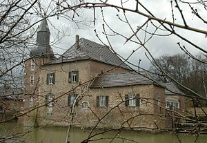 Aachen (district) - Castle of Kambach at Eschweiler