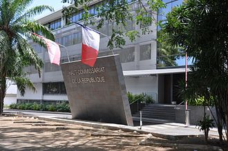 French Polynesia - High Commission of the French Fifth Republic.
