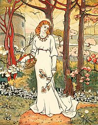 Haweis - Fair Emelye Gathering Flowers