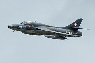 Operation Aztec - Image: Hawker Hunter at ILA 2010 03
