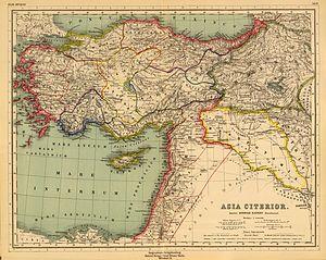 Syrian tetrapolis - Image: Heinrich Kiepert. Asia citerior