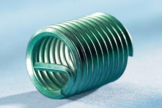 Threaded insert - A helical insert