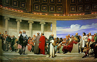 Paul Delaroche - Image: Hemicycle of the Ecole des Beaux Arts 3