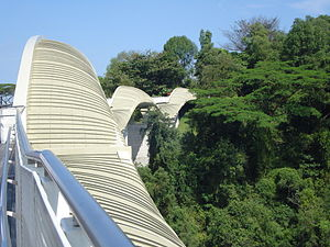 Picture of Henderson Waves, Singapores highest...