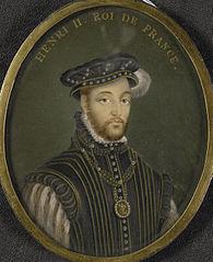 Hendrik II (1518-59), koning van Frankrijk