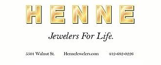 Henne Jewelers - Image: Henne Jewelers logo