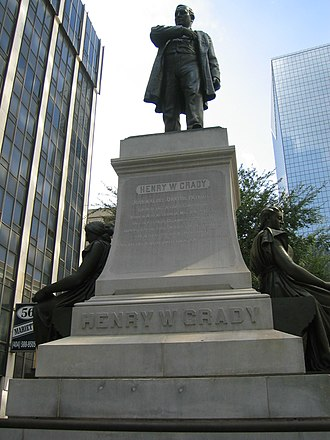 Henry W. Grady - Statue of Henry Grady in Atlanta