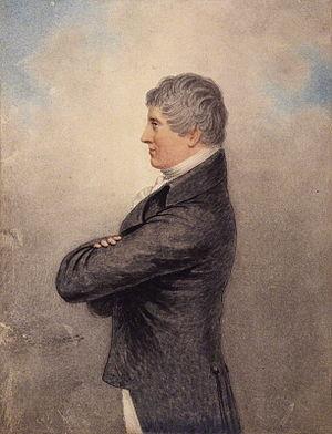Henry Hunt (politician) - Portrait (c. 1810), watercolour, of Henry Hunt (1773–1835) by Adam Buck (1759–1833)