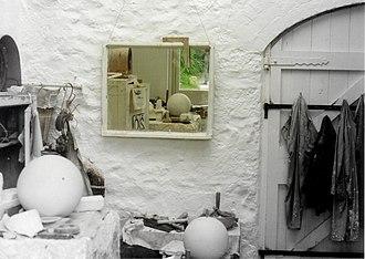 Barbara Hepworth Museum - Hepworth's workshop left virtually untouched