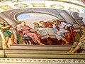 Herrenchiemsee Kloster - Kaisersaal 3d Fresko Heilung Wassersüchtiger.jpg