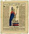 Het leven van den Heiligen Nicolaus, belyder en bisschop van Myra by Weduw H. Bontamps Limburgs Museum G10621.jpg