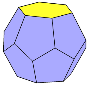 Truncated trapezohedron - Image: Hexagonal truncated trapezohedron