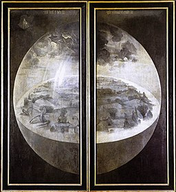 Hieronymus Bosch - Triptych of Garden of Earthly Delights (outer wings) - WGA2506