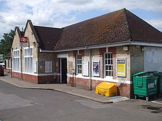 Highams Park railway station - Image: Highams Park stn building