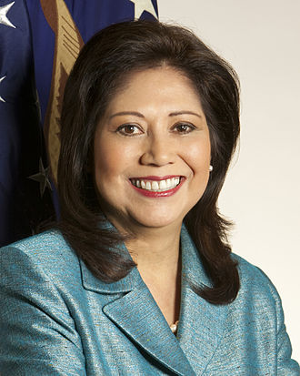 Los Angeles County Board of Supervisors - Image: Hilda Solis official DOL portrait