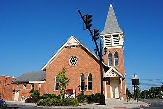 Hilliard, Ohio - Hilliard United Methodist Church, built 1883